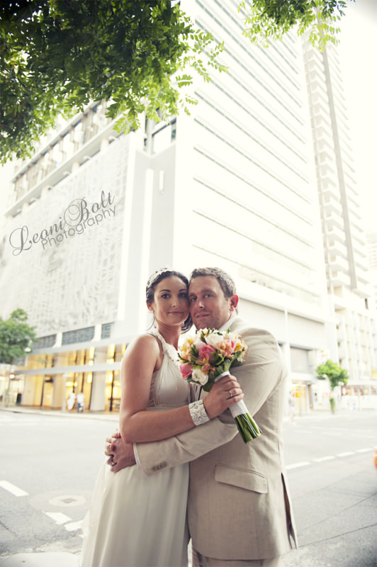 wedding in Brisbane city