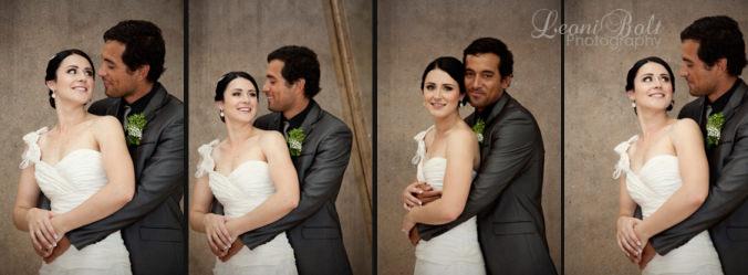 wedding at bustop
