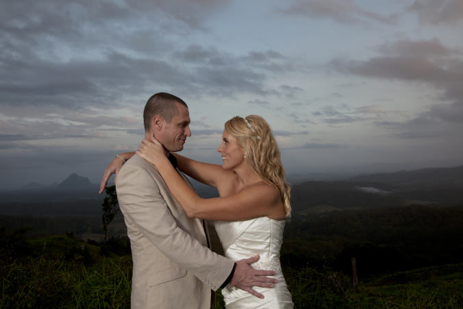 sunshine coast hinterland wedding