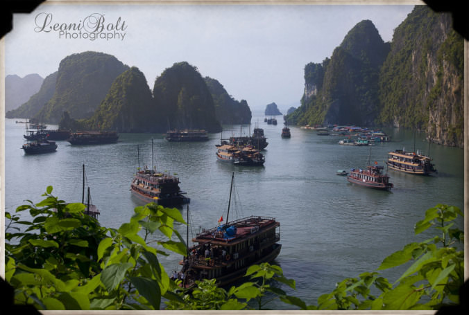 bay in northern Vietnam